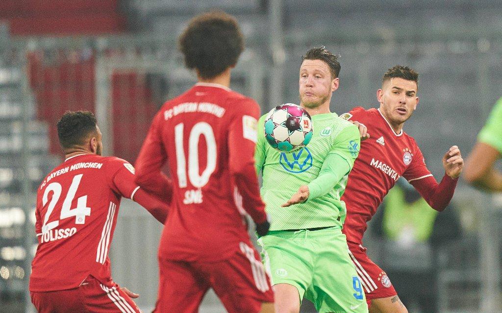 Tröstet sich Bayern mit einem Sieg in Wolfsburg?