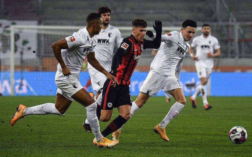 Dritter Sieg in Serie für Frankfurt gegen Augsburg?