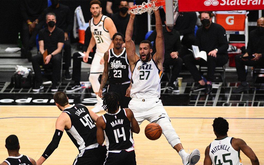 All Star Gobert dominiert mit den Utah Jazz die NBA