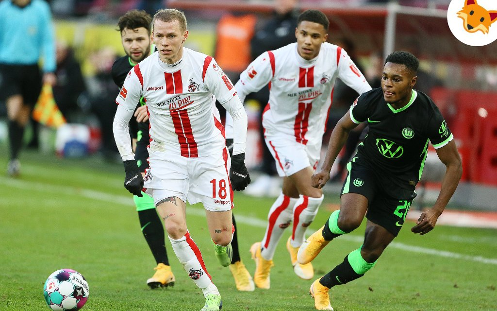 Der Quotenfuchs hat ein Auge fürs Duell Wolfsburg gegen Köln.