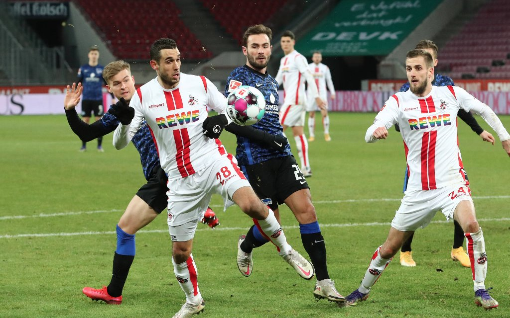 Hertha will ersten Matchball gegen Köln verwandeln