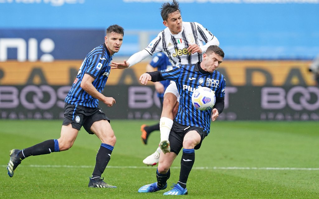 PAULO DYBALA, Juventus, BERAT DJIMSITI, Atalanta, Serie A, Atalanta vs Juventus 1-0, Bergamo SERIE A 2020-21 ATALANTA-JUVENTUS 1-0