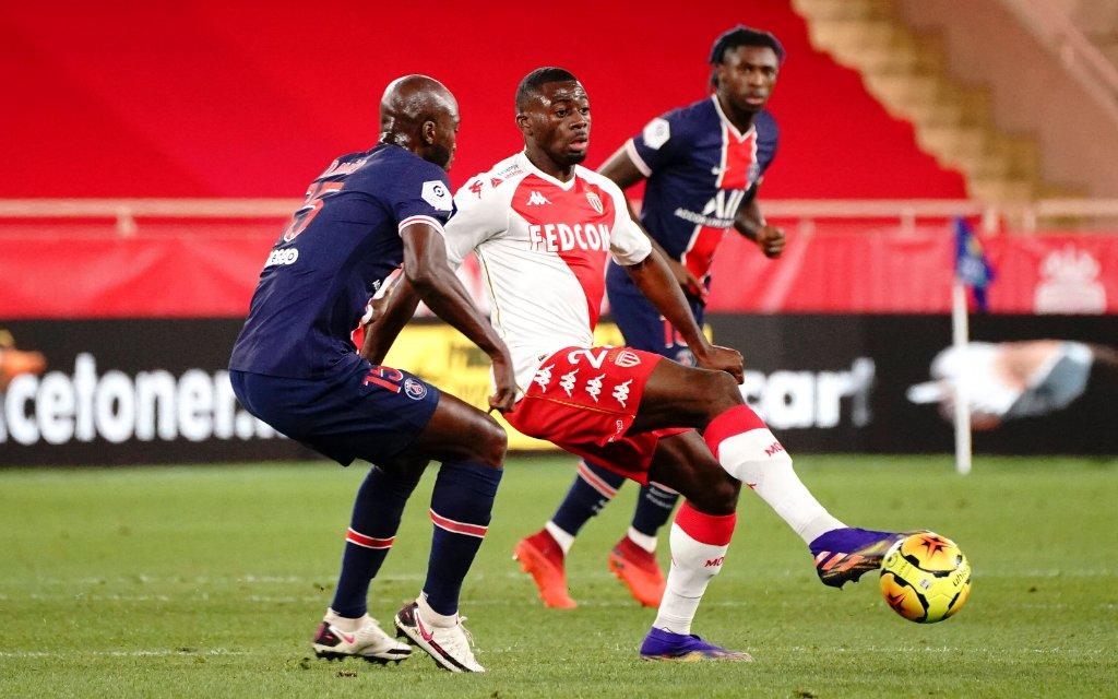 Youssouf Fofana AS Monaco FOOTBALL : AS Monaco vs PSG - Ligue 1