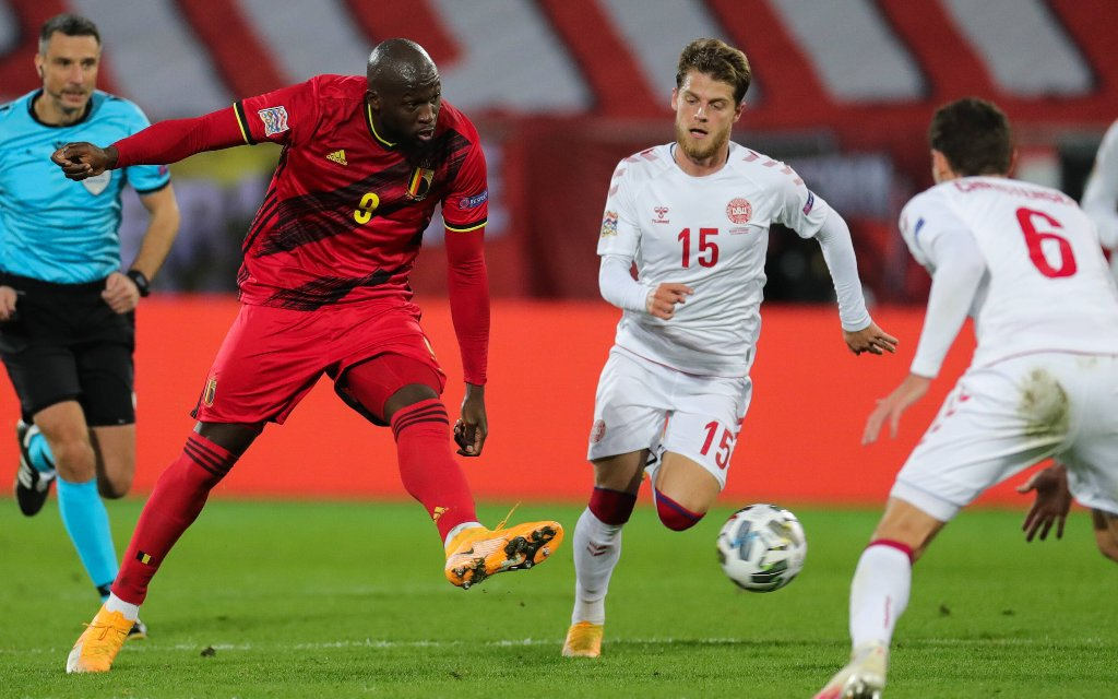 Gegen die Dänen traf Belgiens Lukaku zuletzt doppelt.