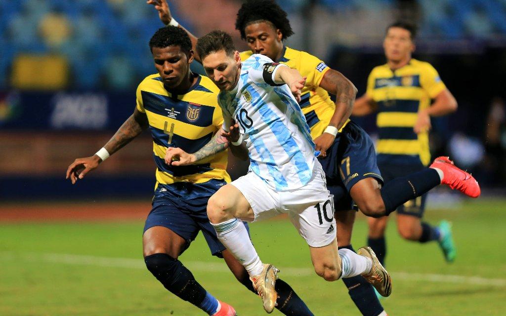 Argentinien - Kolumbien: Setzt sich Messi wieder durch?