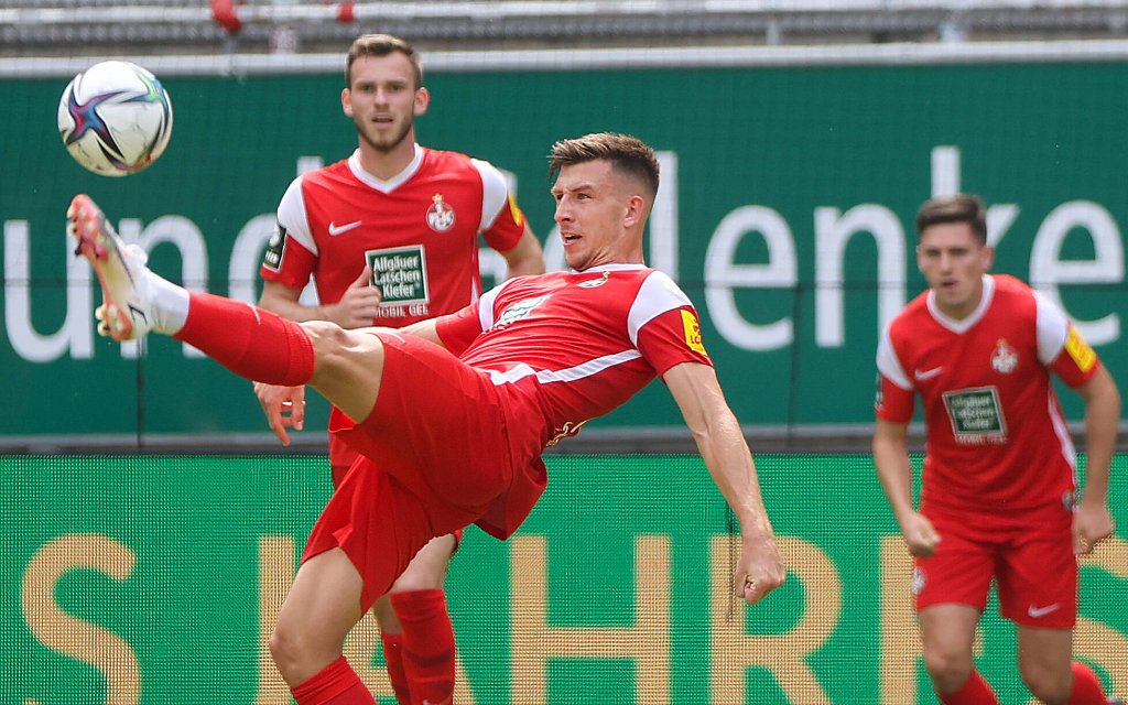 Fussball - 3. Liga - 1. FC Kaiserslautern - Eintracht Braunschweig - 24.07.21 Daniel Hanslik FCK