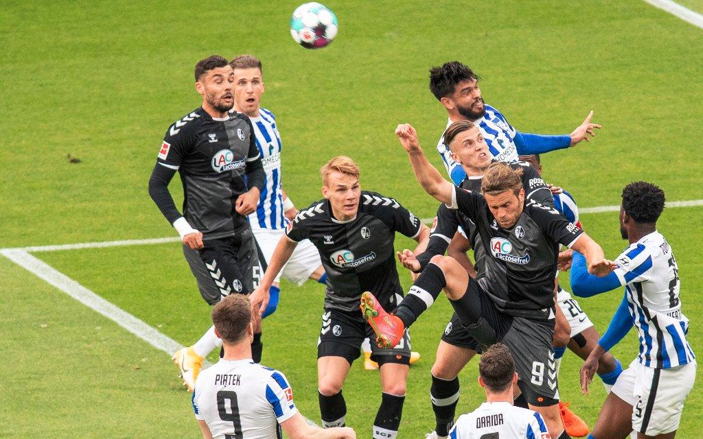 Hertha will sich gegen Freiburg rehabilitieren