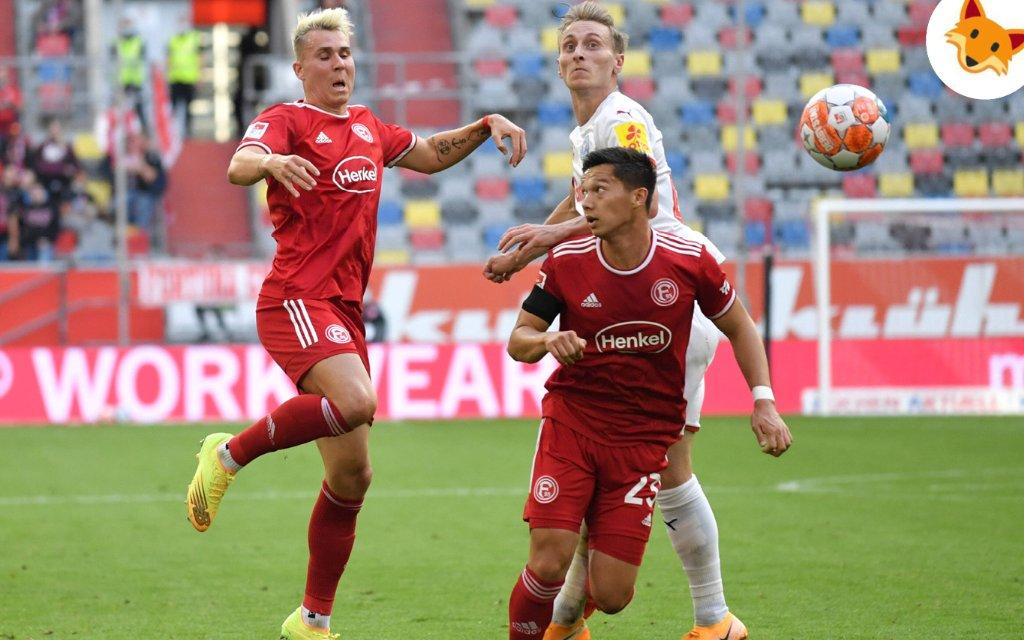 Der Quotenfuchs blickt auf Düsseldorf gegen Regensburg.