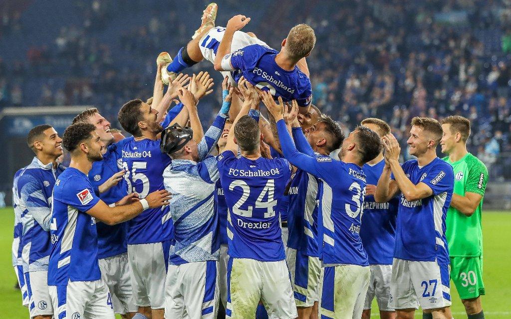 Schalke feiert Simon Terodde