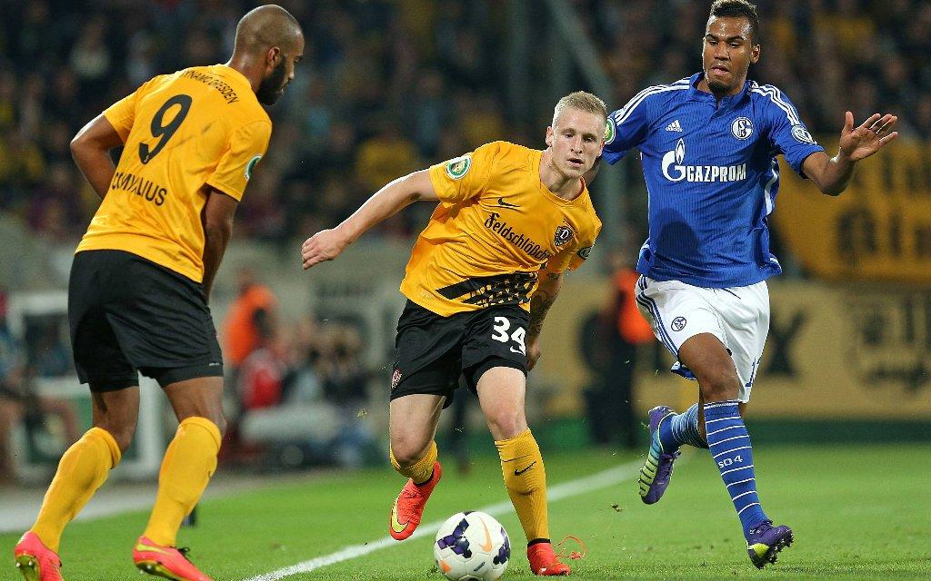 Schalke will auch Dresden in die Schranken weisen