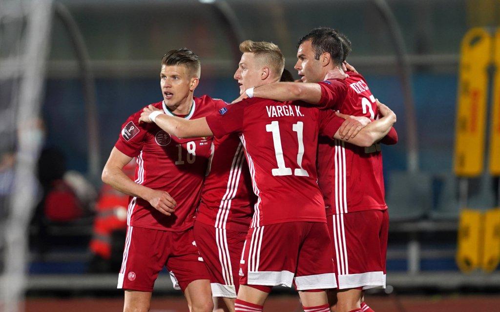 FIFA World Cup, WM, Weltmeisterschaft, Fussball 2022 QUALIFYING ROUND, 28-03-2021, SAN MARINO-HUNGARY UNGHERIA 0-3,