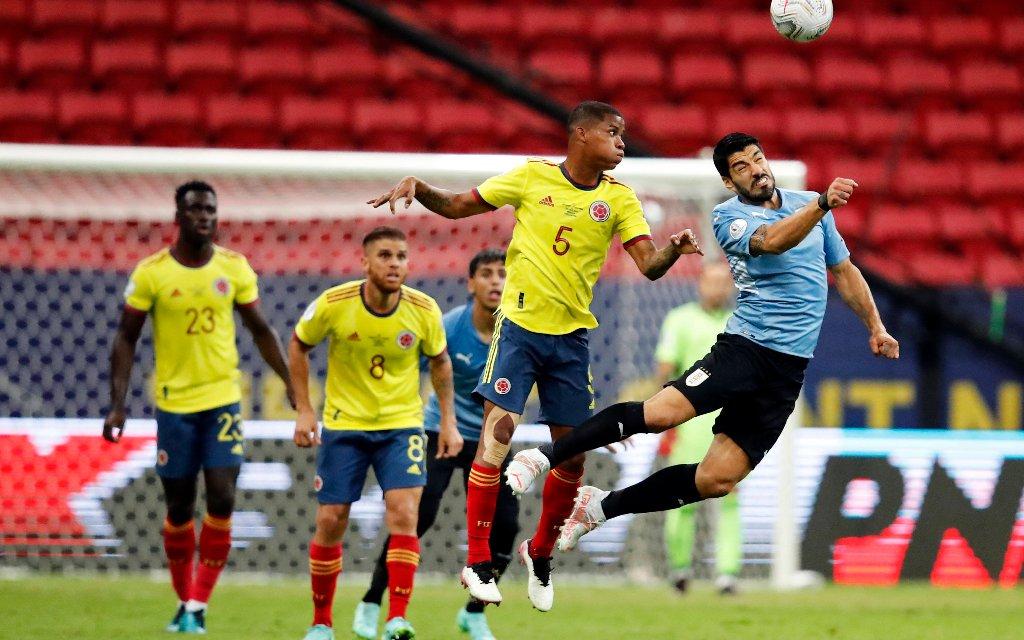 WM-Quali in Südamerika: Uruguay gegen Kolumbien